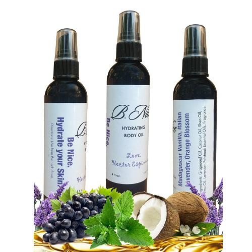 Nourishing Fragrant Body Oil Madagascar Vanilla Italian Lavender Orange Blossom By Hector L Espinosa