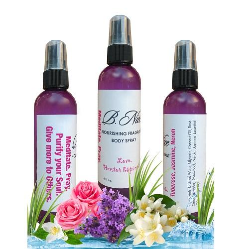 Nourishing Fragrant Body Spray Tuberose Jasmine Neroli By Hector L Espinosa