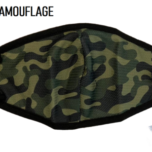 Green Camouflage Covid 19 Protection Mask